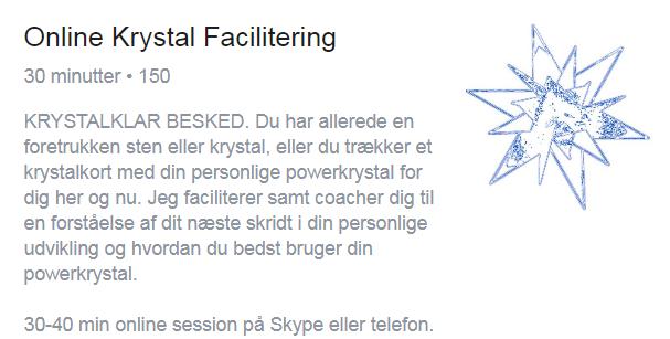 Online Krystal facilitering